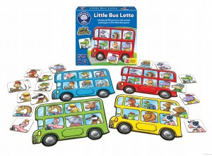 Orchard Toys Little Bus Lotto Mini Game-gra mini