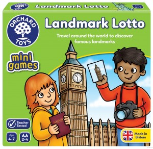 Orchard Toys Landmark Lotto