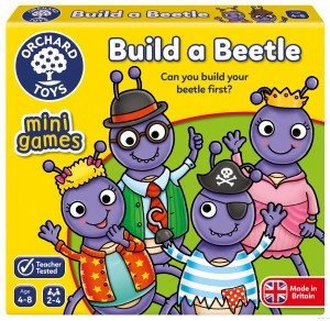 Orchard Toys Build a Beetle Mini Game-gra mini