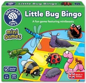 Orchard Toys Little Bug Bingo gra mini